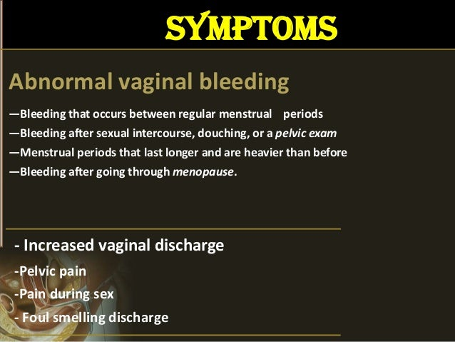 Pain and bleeding during sex picture 72