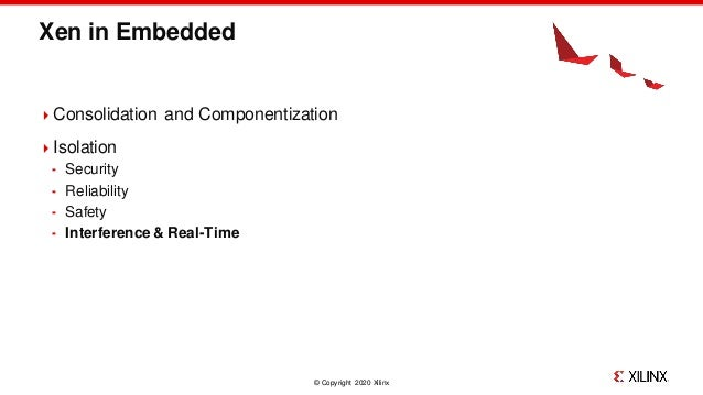 Xen Cache Coloring: Interference-Free Real-Time System Slide 2