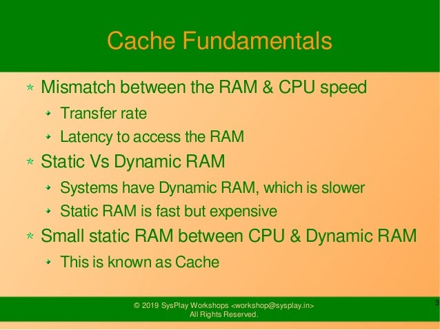 Cache Management Slide 3