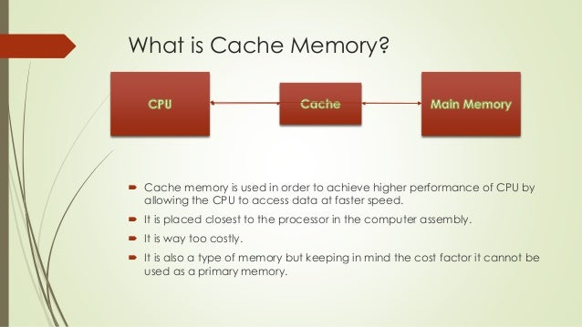 Image result for what is cache memory