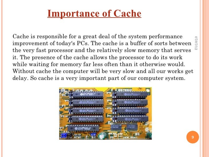 cache memory + research paper  cache memory introduction a cpu cache is a cache used by the central processing unit (cpu) of a computer to reduce the average time to access memory.