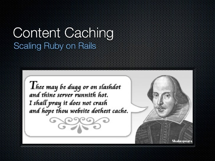 Content Caching with Rails