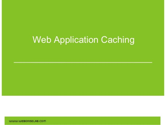 WebApplicationCaching