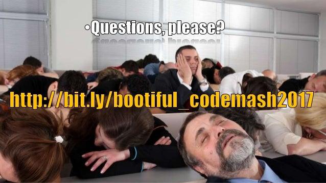 "[Codemash] Caching Made ""Bootiful""!"