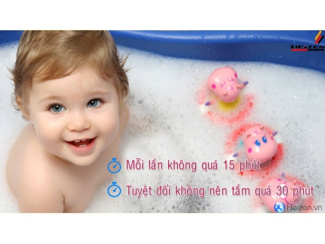 Cách tắm cho bé vào mùa đông
