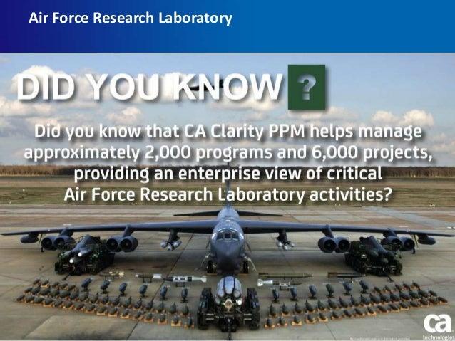 Air Force Research Laboratory   Bullet 1, Calibri regular 24 pt – Sub-bullet, Calibri regular 20 pt  Sub-sub-Bullet, Cal...