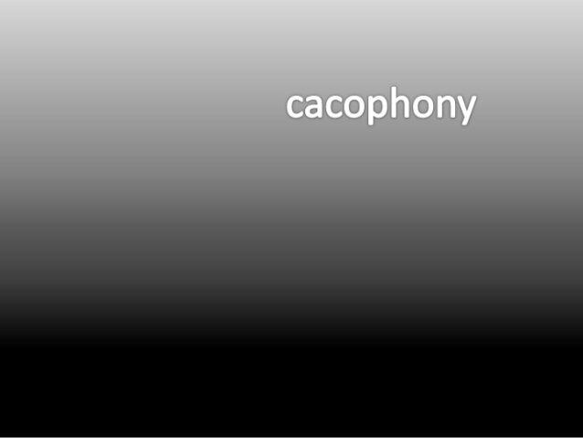 Cacophoty