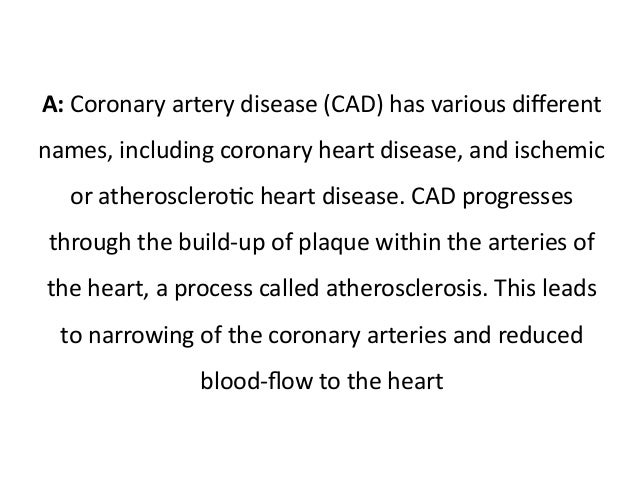 overview coronary artery disease essay Read this miscellaneous essay and over 88,000 other research documents coronary artery disease coronary artery disease 10/31/2005 this paper will serve as a case study for the condition known as coronary artery disease.