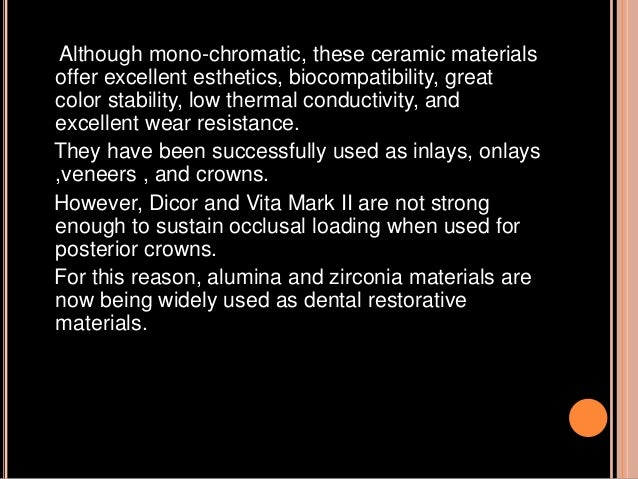 Cad Cam And Cad Cim In Restorative Dentistry