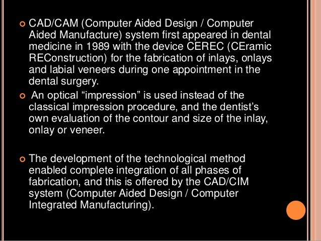 The further development of the intraoral three dimensional camera has been carried out in accordance with the original Cer...