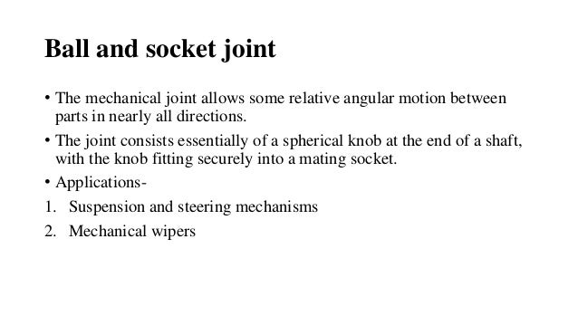 ball and socket joint. ball and socket joint