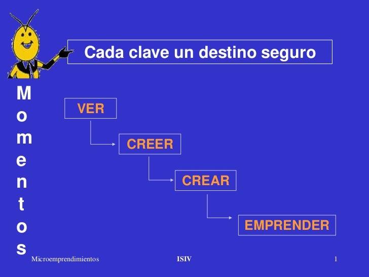Cada clave un destino seguroM             VERom                      CREERen                               CREARto        ...