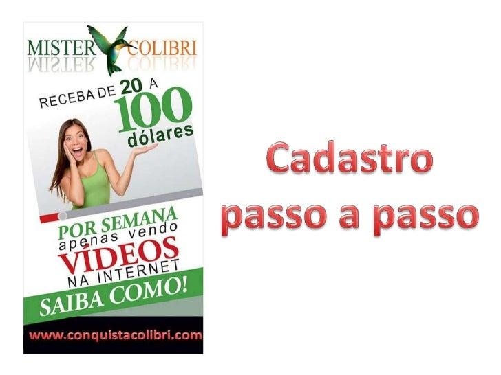 Acesse: www.itamarmelo.mistercolibri.com