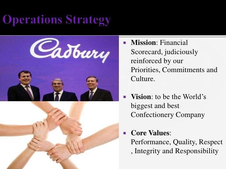 Mission cadbury company