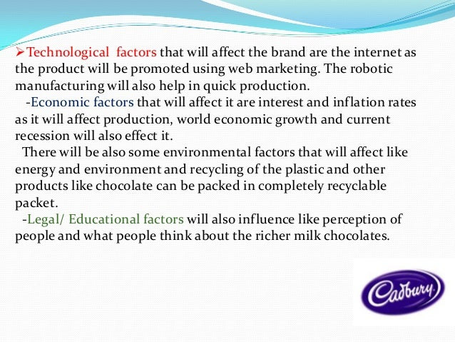 legal factor for cadbury Liz gyekye takes a look at the legal issues in october, cadbury won a legal  battle to prevent nestlé using its unique purple colour on its.