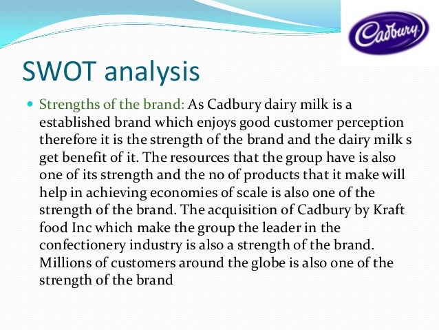 cadbury scweppes swot and environments Research and markets ( ) has announced the addition of the cadbury schweppes p.