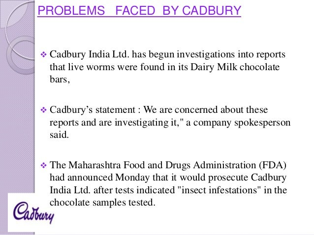 negative effects on cadbury Reccommendations – cadbury should continue helping their employees   economic an interest have an adverse affect on buying.