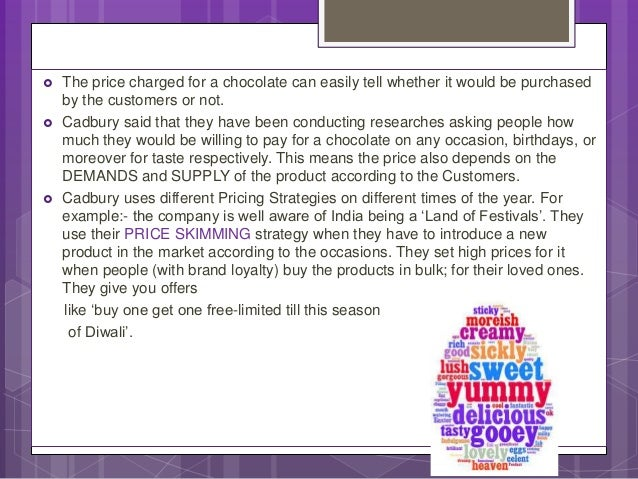 analysis of the cadbury business Cadbury chocolate is one of the world's best-selling brands, with more than $3 billion in net revenues in 2016 but it didn't crooked lane 1831 2003 cadbury schweppes buys adams, adding gum and candy to the chocolate portfolio the new company becomes the world's leading confectionery company 1990 1971.