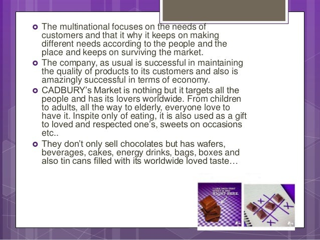 analysis of the cadbury business Cadbury is more of a brand led company whereas kraft a its purpose is to provide a bigger picture of the environment in which the business is operating in strategic analysis helps an organisation to identify what is happening outside of the business so that they can the writepass journal.