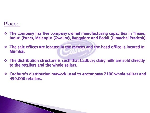 csr activities of cadbury They operate in the trend for csr related activities is  choice of csr initiatives  by businesses in pakistan  cadbury pakistan limited 3.