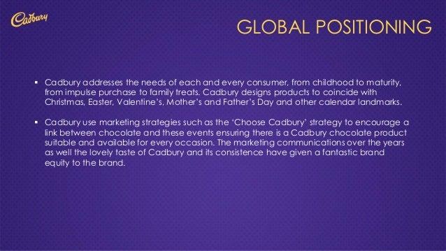 case study on consumer behaviour cadburys Objectives understanding consumer behavior factors influencing consumer  behavior detailed study of buying behavior in case of: 1.