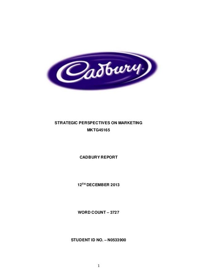 marketing strategy adopted by cadbury