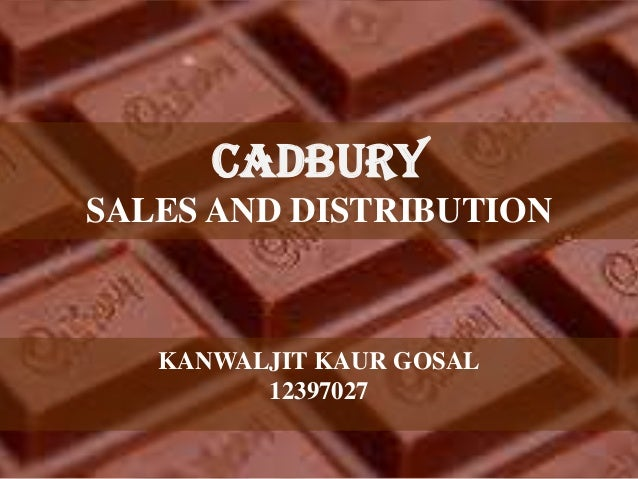 sales and distribution of cadbury Money from the fixed costs, binding contracts with distribution channels, and advertisements used to create the strong brand images cadbury schweppes had soft drink sales of $6 billion with a product line consisting of soft drinks such as a&w root beer, canada dry, and dr pepper (cadbury.