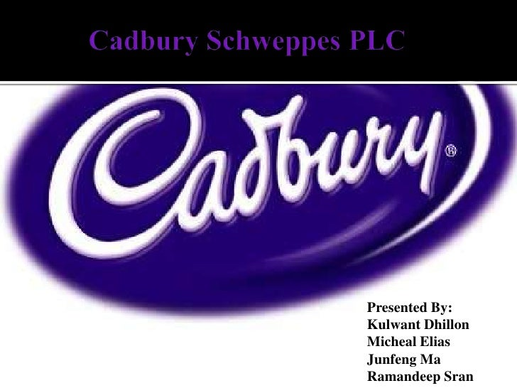 Cadbury Schweppes PLC<br />Presented By:<br />KulwantDhillon<br />Micheal Elias<br />Junfeng Ma<br />RamandeepSran<br />