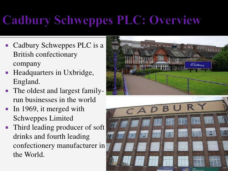 an analysis of the cadbury schweppes plc in british confectionery and beverage companies Confectionery and food products cadbury nigeria is a member company of cadbury schweppes plc,  evidence from saudi cement companies,british journal of.
