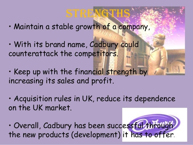 opportunity and threat of cadbury Cadbury can also increase their success by taking advantage of opportunities as  well as being aware of the threats this enables them to.
