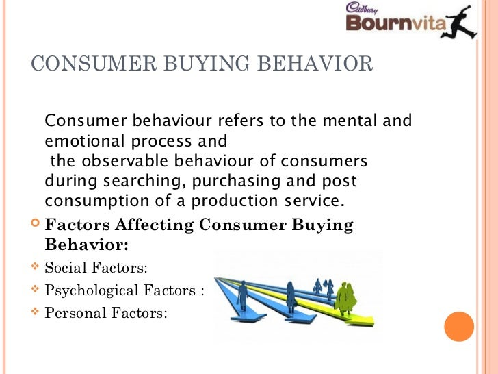 buying behavior of consumer for bournvita Consumer buying behaviour for electronic products a study of select items svijayalaxmi1, research scholar, kakatiyauniversity,warangal, india  32 consumer buying behavior what is buying behavior the wealth of products and services produced in a country make our economy strong almost all the products, which are.