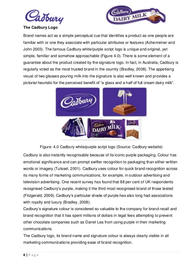 cadbury brand attributes 4 marketer in the us market, brand recognition, and longevity cadbury's and competing in house brands opportunities for cadbury are: variety of media outlets, increased diet soda sales, and increasing consumption threats to cadbury include they are attributes, uses, and.