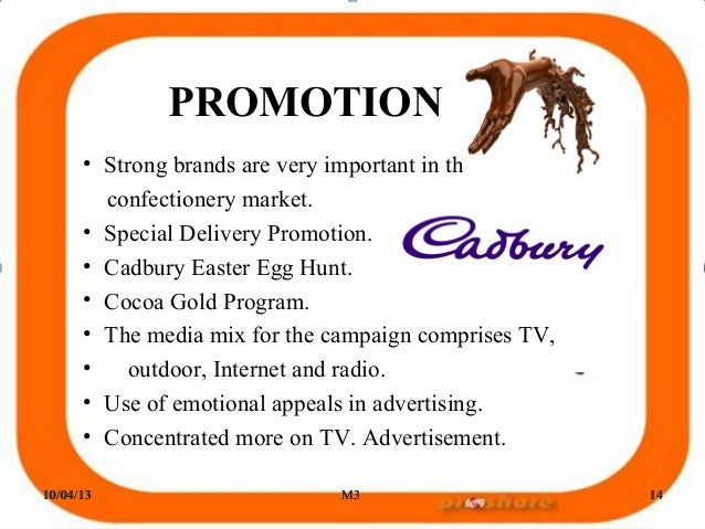personal selling programmes done by cadbury chocolate Ethical and environmental ratings for 101 chocolate bars such as child labour remediation programmes iconic british chocolate company cadbury's was gobbled up by american kraft foods for 115 billion in 2010.
