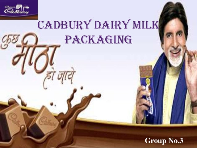 Cadbury Dairy Milk Packaging Group No.3