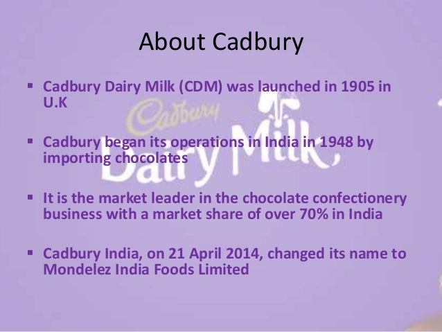 stp of cadbury Cadbury is the icon of the british confectionary industry, with a heritage which dates back to 1824 since then, cadbury has expanded its business throughout the world, through both organic and acquisition led growth today cadbury is a leading global confectionery company, operating in over 60.