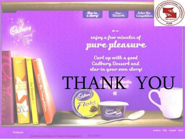 case study cadbury india limited Cadbury india limited  in the case of chocolates, is a  thus we understood better the chocolate market in india cadbury's has a very good market share.