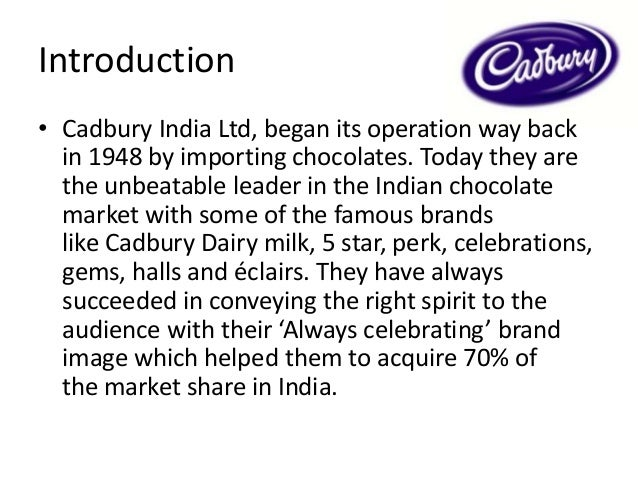 cadbury repositioning This case study illustrates how cadbury bournville set about the challenge of repositioning its brand in india as 'not so sweet', using digital as a key medium behaviourial understanding of the target helped develop digital and content strategy that led to much-recognised campaigns like 'tape a .