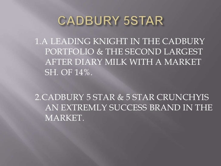 cadbury india ltd Cadbury, formerly cadbury's and cadbury schweppes, is a british multinational confectionery company wholly owned by mondelez international (originally kraft foods) since 2010 it is the second-largest confectionery brand in the world after mars  [2.
