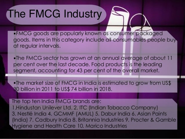 forecasting in fmcg industry A comprehensive guide to retail out-of-stock reduction in the fast-moving consumer goods industry a research study conducted by: thomas w gruen, phd, university of colorado at colorado springs, usa.