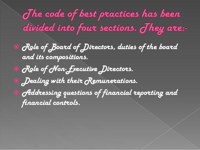 cadbury committee report on corporate governance