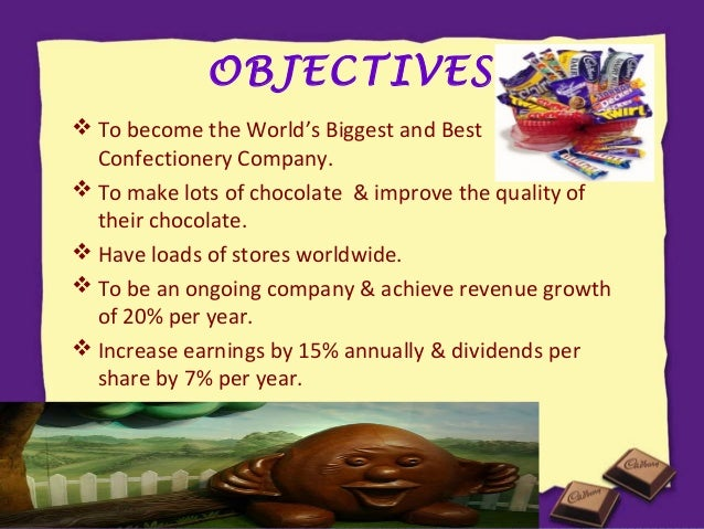 objectives of cadbury Essays - largest database of quality sample essays and research papers on goals of cadbury  cadbury v motivational strategies vi cadbury and its decisions vii conclusions viii recommendations ix references introduction cadbury.