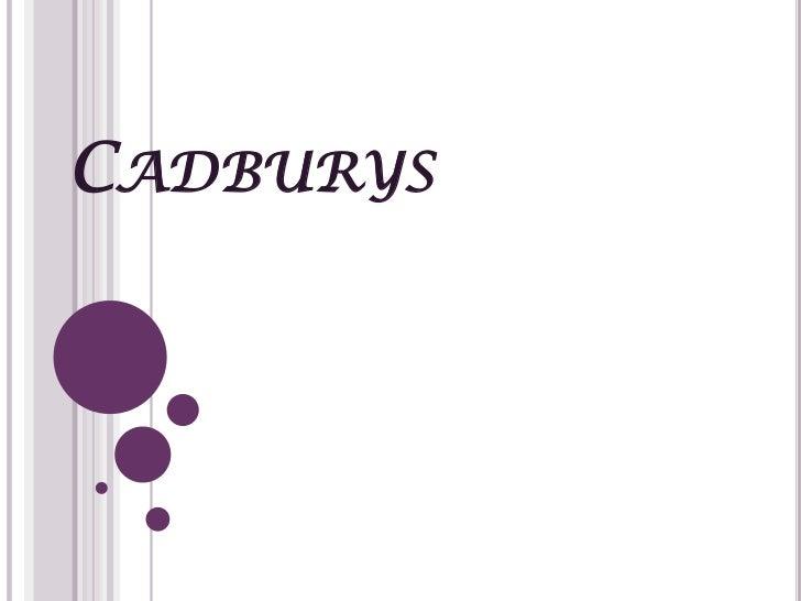 Cadburys<br />