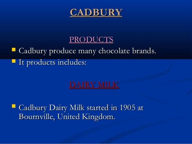 cadbury V/s nestle