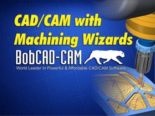 CADCAM Software Toolpath Wizards