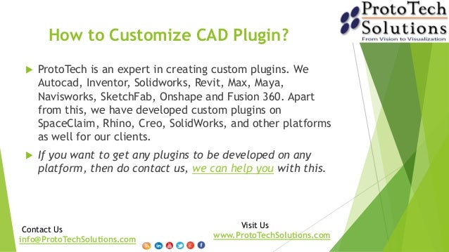 CAD Customization and CAD Plugins Development-ProtoTech