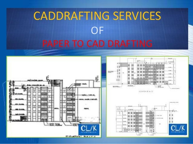 Cad Design Services : Cad drafting services