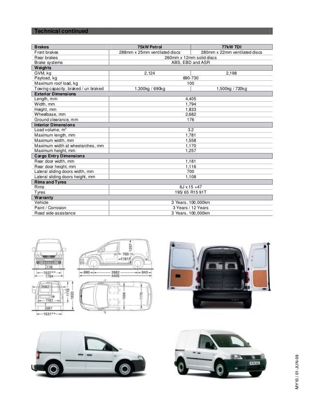 caddy van specifications volkswagen australia. Black Bedroom Furniture Sets. Home Design Ideas