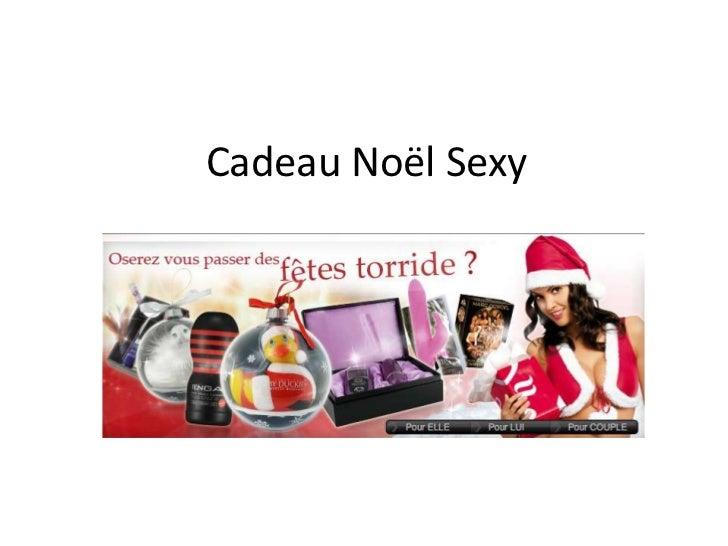 Cadeau Noël Sexy<br />