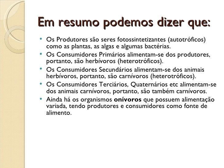 Favoritos Cadeia alimentar PV22