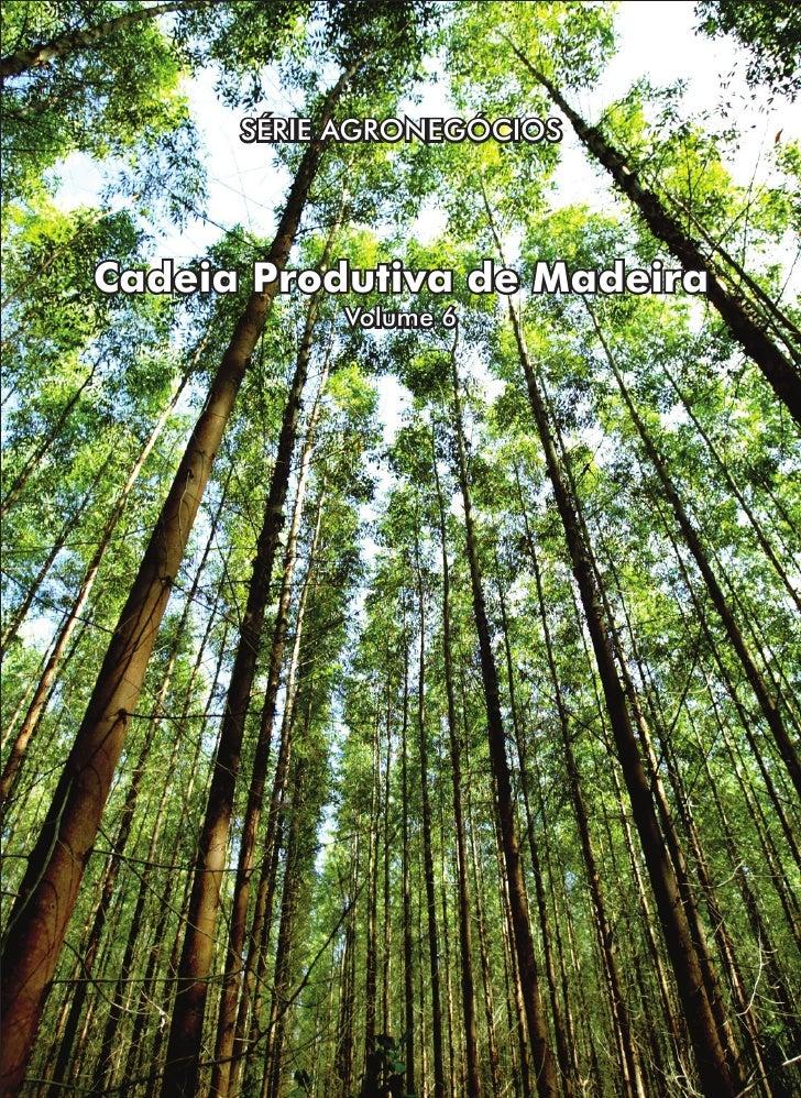 SÉRIE AGRONEGÓCIOSCadeia Produtiva de Madeira           Volume 6